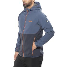 Regatta Arec II Softshell Jacket Men Navy/Dark Denim/Seal Grey